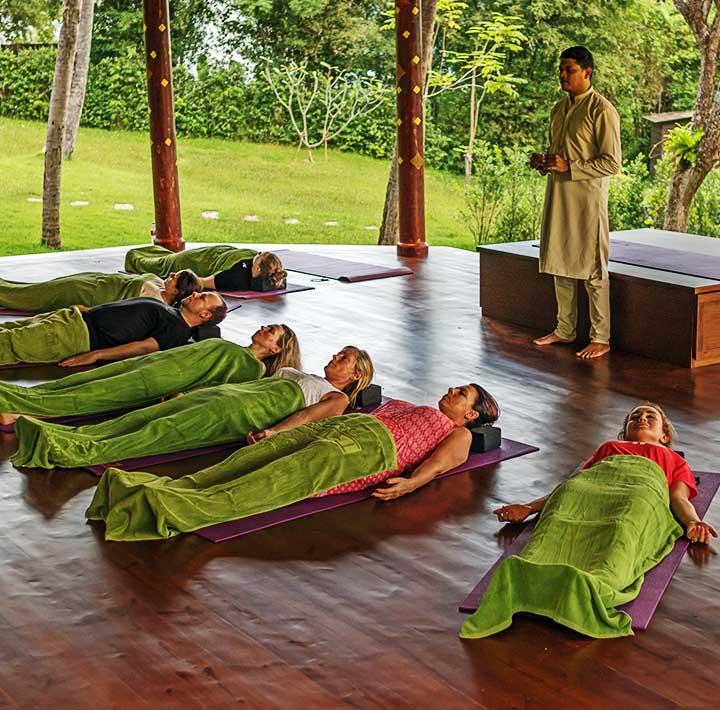 Mangosteen Ayurveda & Wellness Resort Yoga Retreat Phuket Thailand Daily Activities 3